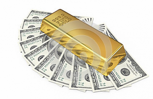 Gold and Currency Combination