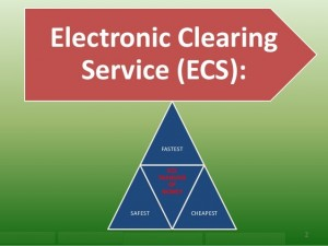 Electronic Clearing Services