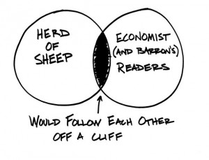 Herd Mentality of Economists